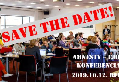 Amnesty – EJHA közös konferencia